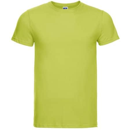 Men`s Slim T in Lime von Russell (Artnum: Z155M