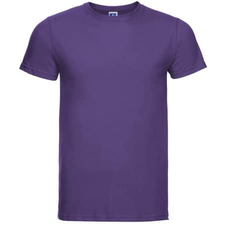 Men`s Slim T in Purple von Russell (Artnum: Z155M