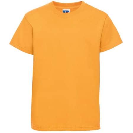 Kids` Silver Label T-Shirt in Pure Gold von Russell (Artnum: Z180K