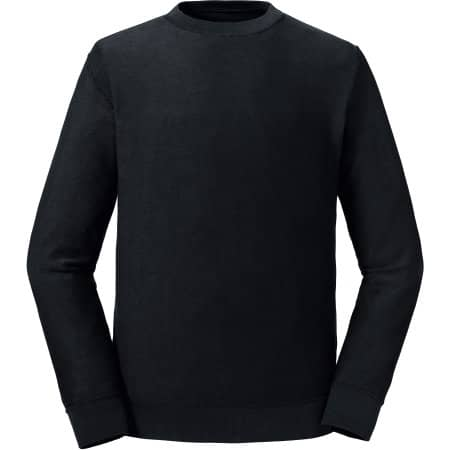 Pure Organic Reversible Sweat in Black von Russell (Artnum: Z208M