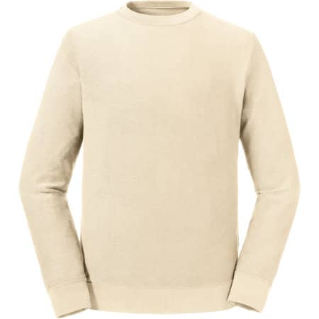 Pure Organic Reversible Sweat in Natural von Russell Pure Organic (Artnum: Z208M