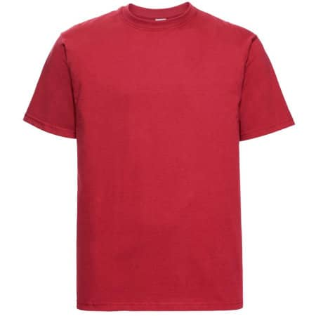 Classic Heavyweight T-Shirt in Classic Red von Russell (Artnum: Z215