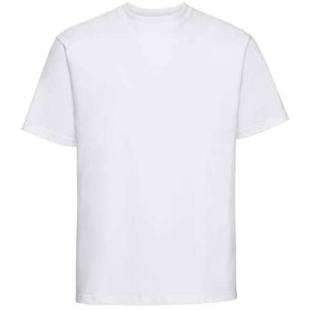 Classic Heavyweight T-Shirt in White von Russell (Artnum: Z215