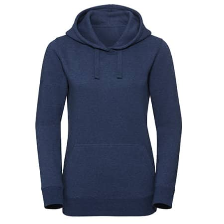 Ladies` Authentic Melange Hooded Sweat von Russell (Artnum: Z261F