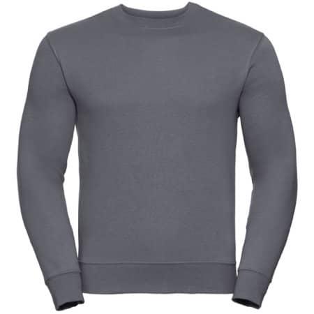 Authentic Sweatshirt in Convoy Grey (Solid) von Russell (Artnum: Z262N