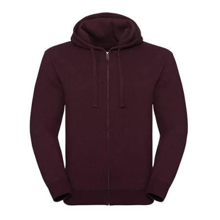 Men`s Authentic Melange Zipped Hood Sweat von Russell (Artnum: Z263M