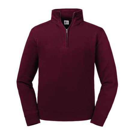 Authentic 1/4 Zip Sweat von Russell (Artnum: Z270M