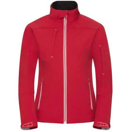 Ladies` Bionic Softshell Jacket in Classic Red von Russell (Artnum: Z410F