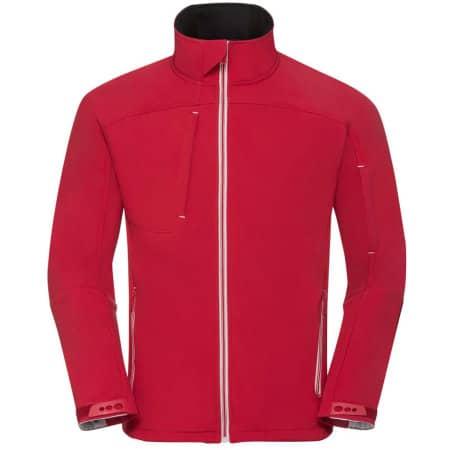 Men`s Bionic Softshell Jacket in Classic Red von Russell (Artnum: Z410M