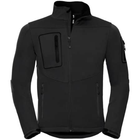 Sports Shell 5000 Jacket in Black von Russell (Artnum: Z520