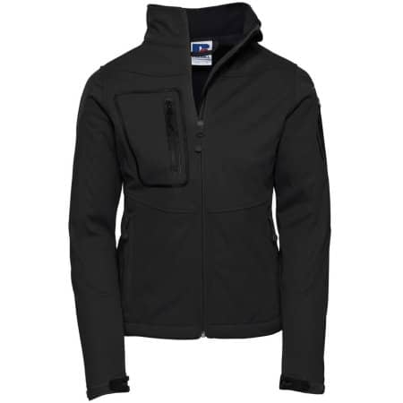 Ladies` Sports Shell 5000 Jacket in Black von Russell (Artnum: Z520F
