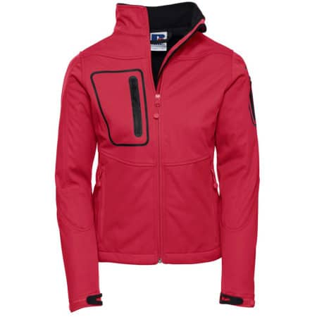 Ladies` Sports Shell 5000 Jacket in Classic Red von Russell (Artnum: Z520F