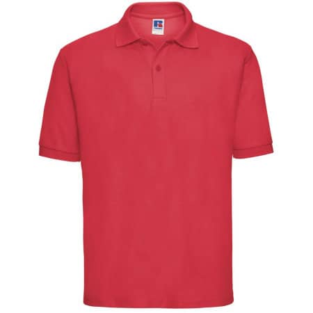 Poloshirt 65/35 in Bright Red von Russell (Artnum: Z539