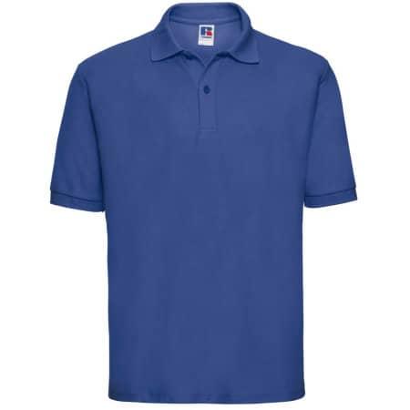 Poloshirt 65/35 in Bright Royal von Russell (Artnum: Z539