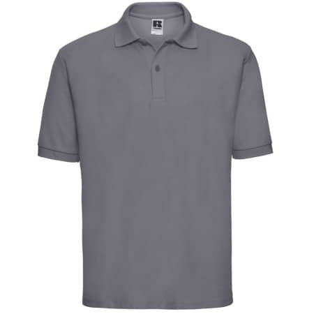 Poloshirt 65/35 in Convoy Grey (Solid) von Russell (Artnum: Z539