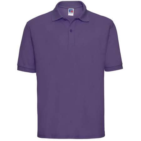 Poloshirt 65/35 in Purple von Russell (Artnum: Z539