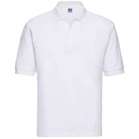 Poloshirt 65/35 in White von Russell (Artnum: Z539