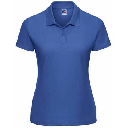 Ladies` Poloshirt 65/35 in Bright Royal von Russell (Artnum: Z539F
