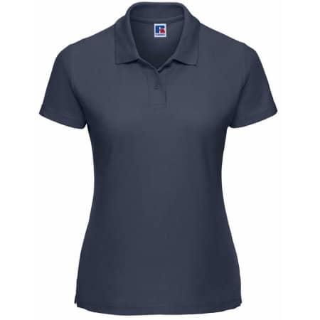 Ladies` Poloshirt 65/35 in French Navy von Russell (Artnum: Z539F