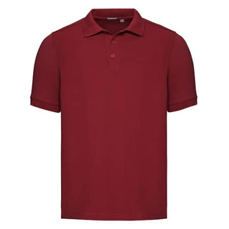 Men`s Tailored Stretch Polo von Russell (Artnum: Z567