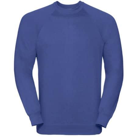 Raglan-Sweatshirt in Bright Royal von Russell (Artnum: Z762