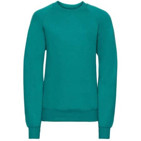 Kids` Raglan-Sweatshirt von Russell (Artnum: Z762K