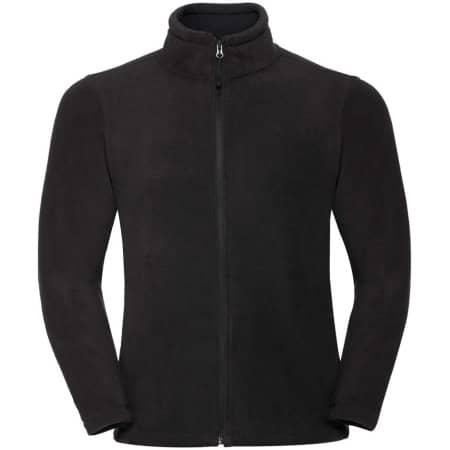 Outdoor Fleece Jacke in Black von Russell (Artnum: Z8700