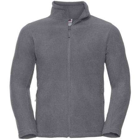 Outdoor Fleece Jacke in Convoy Grey (Solid) von Russell (Artnum: Z8700