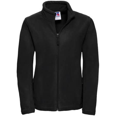 Damen Outdoor Fleece Jacke in Black von Russell (Artnum: Z8700F