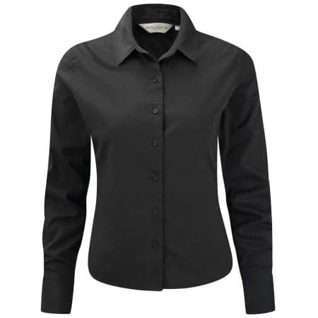 Ladies` Long Sleeve Classic Twill Shirt von Russell Collection (Artnum: Z916F