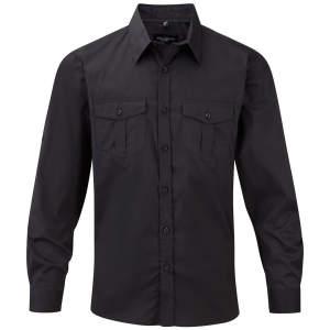 Men`s Roll Long Sleeve Twill Shirt