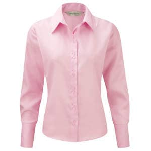 Ladies` Long Sleeve Ultimate Non-Iron Shirt