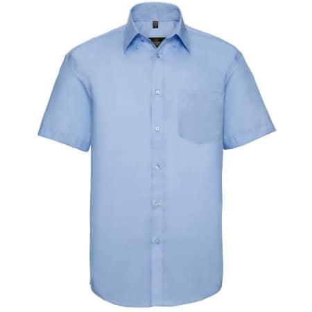 Men`s Short Sleeve Ultimate Non-Iron Shirt von Russell Collection (Artnum: Z957