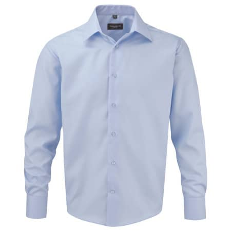 Men`s Long Sleeve Tailored Ultimate Non-Iron Shirt von Russell Collection (Artnum: Z958